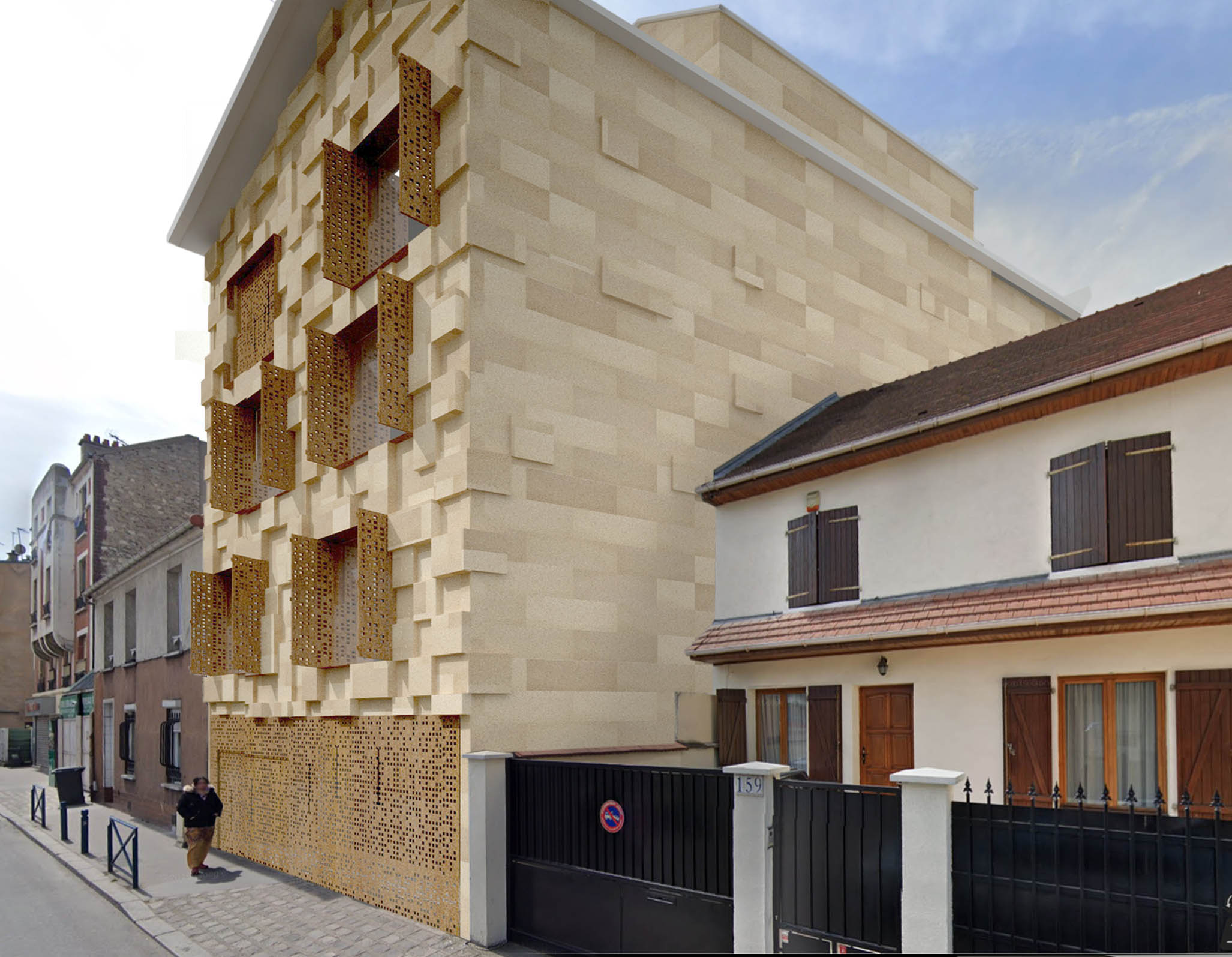 Projet habitat participatif à Aubervilliers (FR-93)