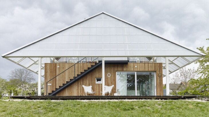 Une- Family-Greenhouse par RicharDavidArchitekti - Horice, Republique Tcheque