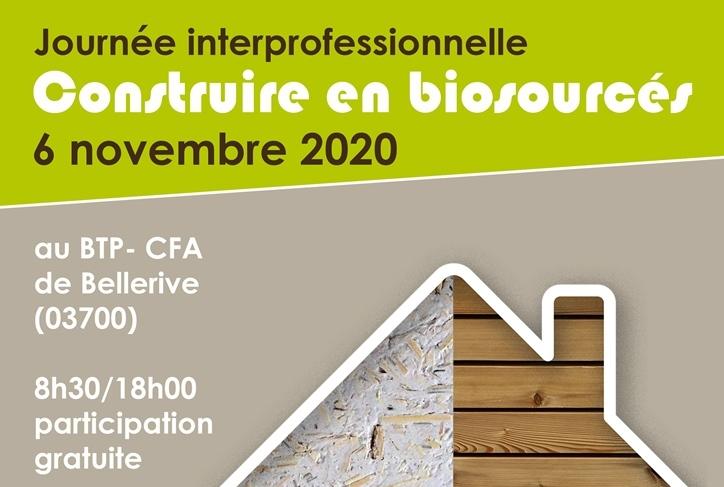 Journée Interprofessionnelle : construire en biosourcés – Le Vernet (FR-03)