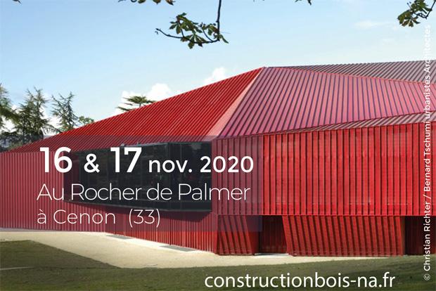 Journées Régionales de la Construction Bois et Biosourcés 2020 – Cénon (FR-33)