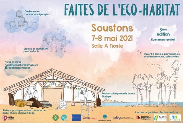Faites de l'éco-habitat et visite d'une maison écologique – Soustons (FR-40)