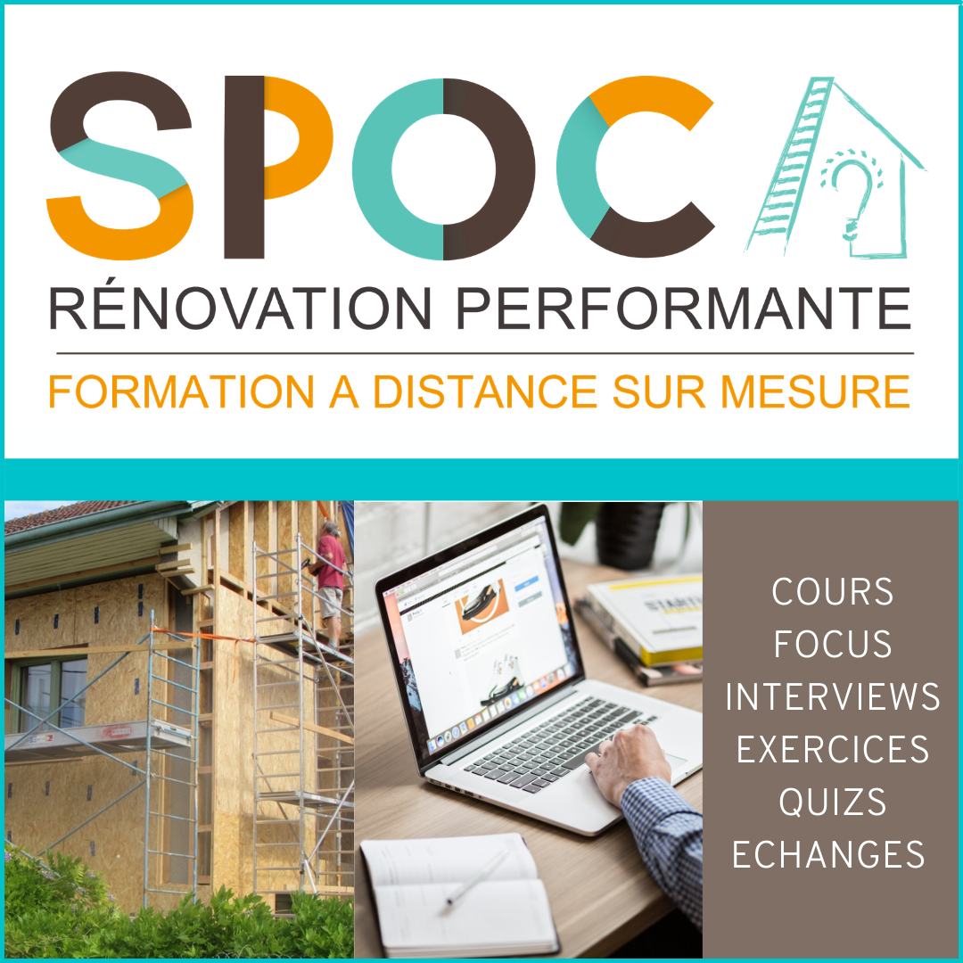 SPOC Rénovation Performante – Asder -Formation en Ligne