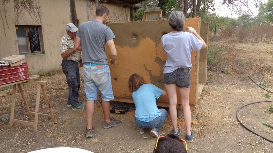 Techniques de construction terre – Bâtir Vivant – Saint Laurent la Vernède (FR-30)