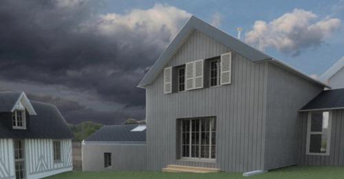 Chantier participatif : construction d'une maison zéro béton ! Arpe Normandie – Cambremer (FR-14).