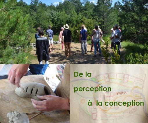 Concevoir un projet organique par Sens Espace Europe et IFMA-France – Cantercel (FR-34)