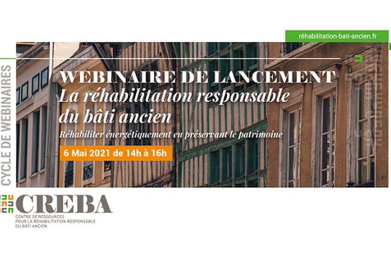 Réhabiliter énergétiquement en préservant le patrimoine – Creba – e-Event