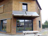 Maison bois bioclimatique -LMB Martin freres - Maine-et-Loire - crédit photos Build Green