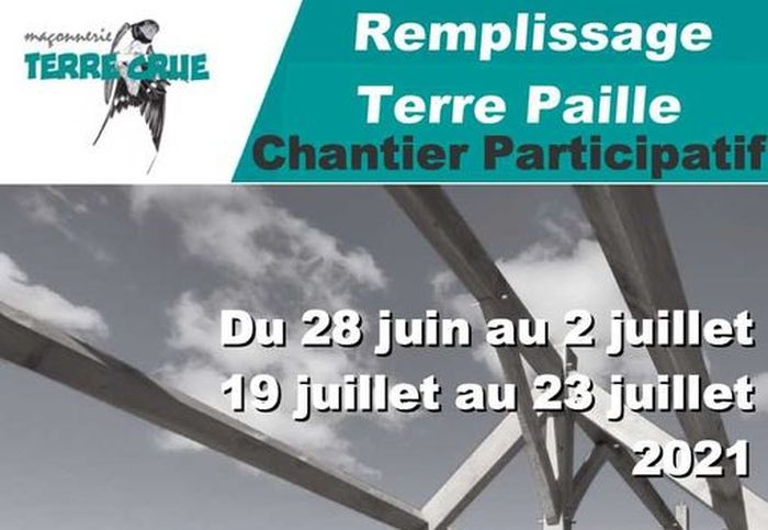 Chantier Participatif Accompagné Terre Crue – Ille et Vilaine (FR-35)