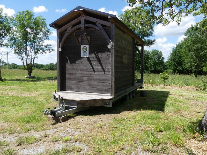 Tiny sauna - West Wood Tiny - photo Pascal Faucompré - Build Green