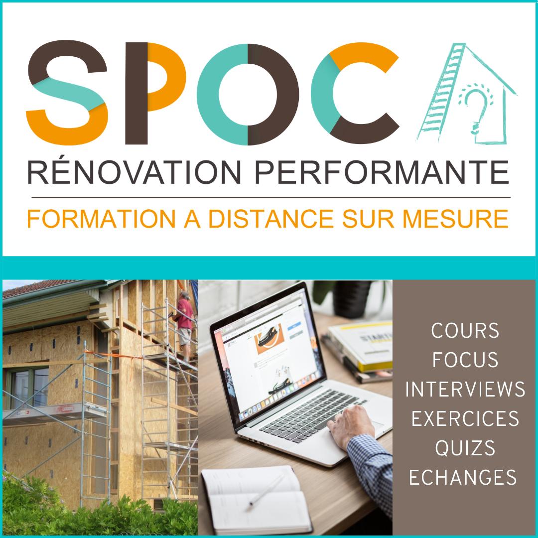 Découvrez le SPOC Rénovation Performante