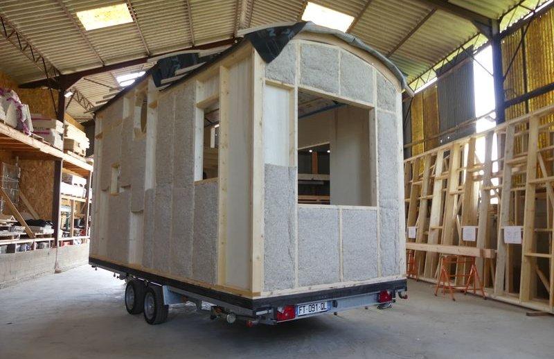 Autoconstruction d'une Tiny-house - West Wood Tiny - Photo Pascal Faucompre - Build Green