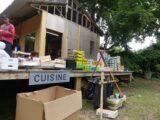 Cuisine et repas préparés par l'association Disco Soupe - « Cité Vivant » Festival Bellastock 2021 - le CAAPP. Evry Courcouronnes (FR-91) - Photo Pascal Faucompré - Build Green
