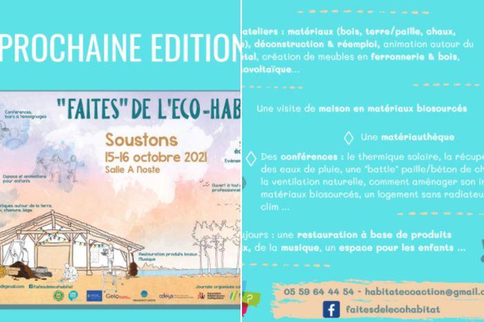 Event – «Faites» de l'éco-habitat à Soustons (FR-40)