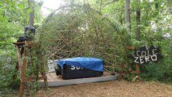 Scène en bambou - Festival Ecole Zéro 2021