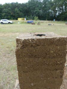 Test de terre crue - Festival Ecole Zéro 2021