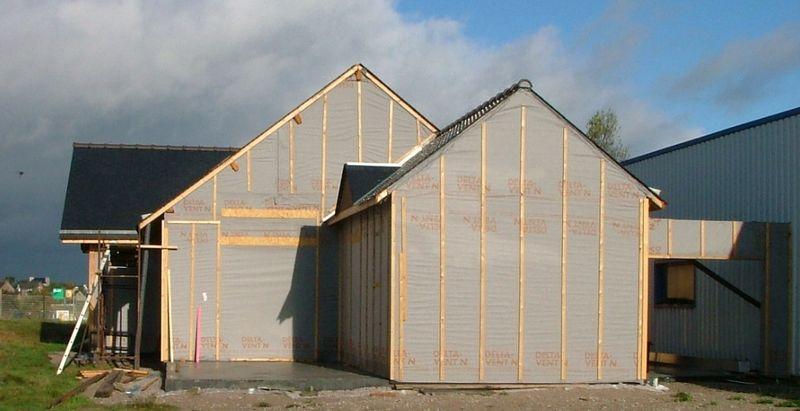 Maison Bois Passive - Maisons Ekohe - Richeux-Le Tohic- Fréhel- FR-22- Crédit photo Pascal Faucompre- Build-Green