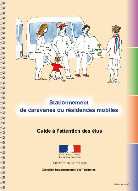 Stationnement de caravanes ou résidences mobiles