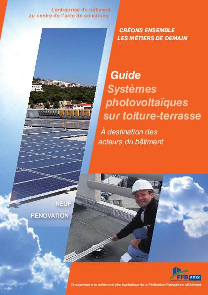 Guide – photovoltaique en toiture terrasse par Soprasolar