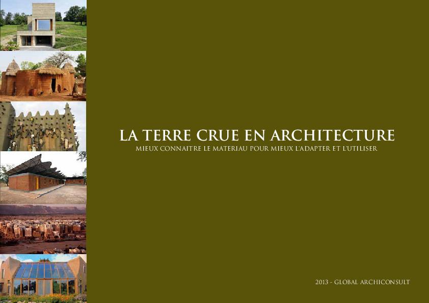 La terre crue en architecture