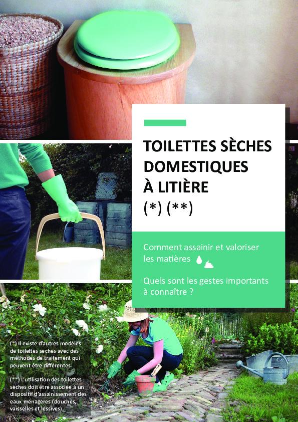 Toilettes sèches domestiques – ADEME