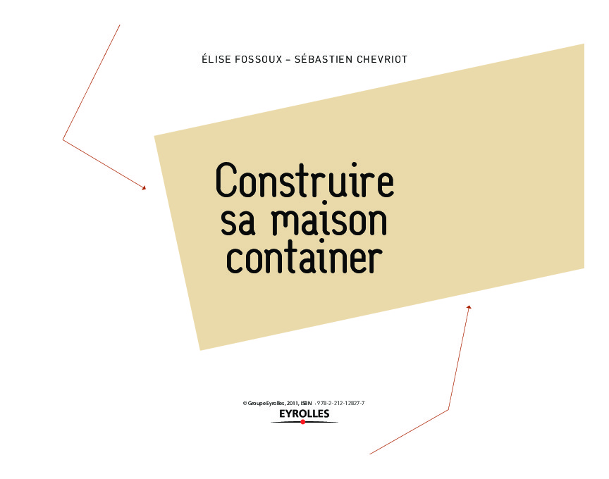 Construire sa maison container build green for Construire une maison 120m2