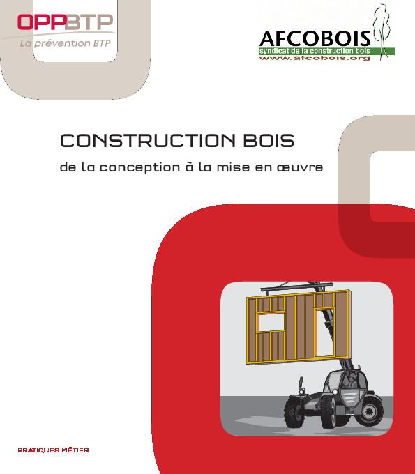 Guide Afcobois construction bois conception et mise en oeuvre 2013