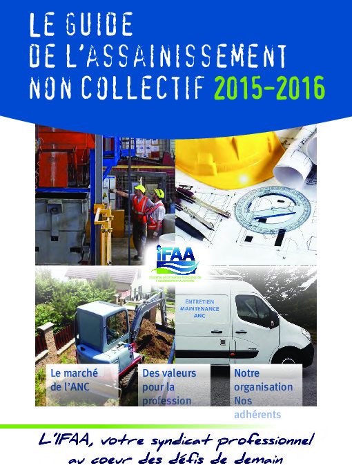 Le guide de l'assainissement non collectif 2015-2016