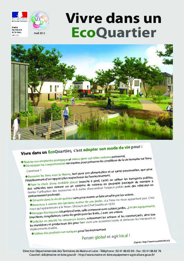 Vivre dans un co quartier build green for Vivre dans un loft